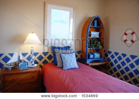 Nautical  Themed Bedrom