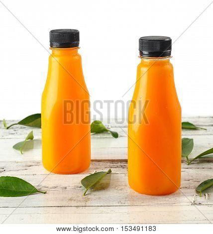 Bottle Of Fresh Orange Juice