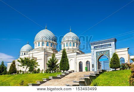 View of medieval Dzhuma Mosque in Tashkent, Uzbekistan