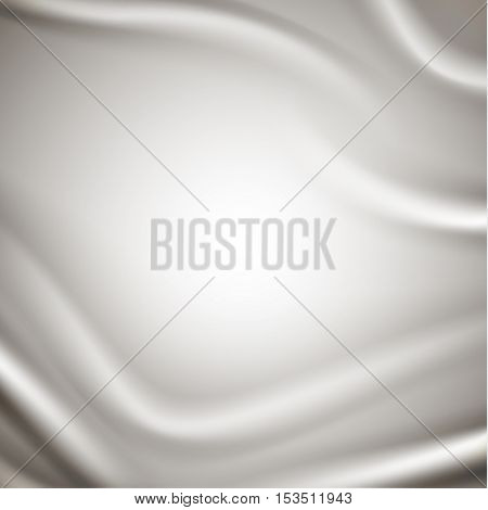 Smooth silky satin fabric background - eps10