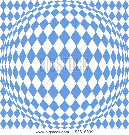 abstract background with a pattern of the Bavarian flag
