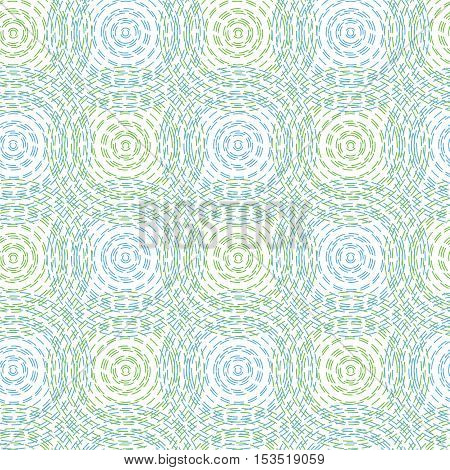 vector seamless background pattern of abstract circles