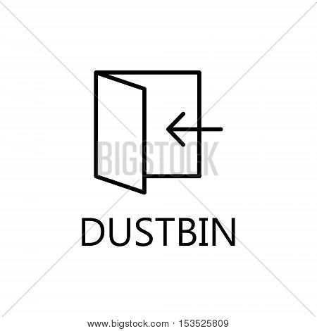 Black notebook icon, isolated on white background. Notebook line icon. High quality outline pictigram for design website or mobile app. Vector thin line illustration of document.