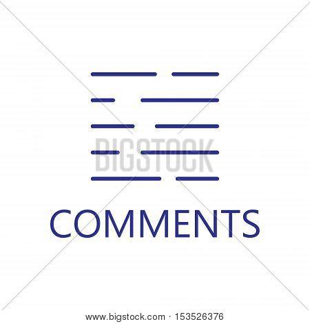 More information line icon. Vector concept illustration for design. High quality outline pictigram for design website or mobile app. Vector thin line illustration of more information.