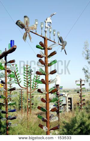 Tall Bottle Tree