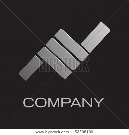 Vector sign hand. Thumbs up, isolated logo