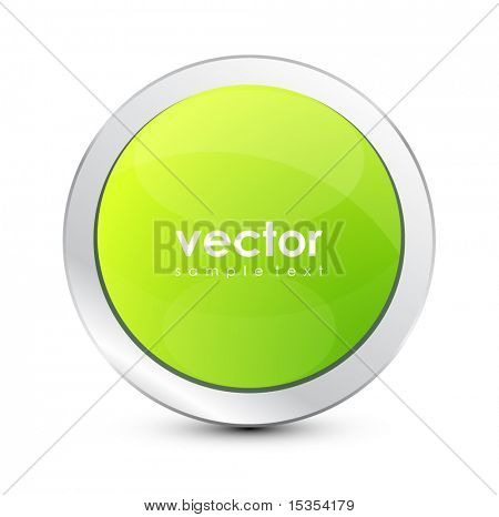 Vector green button