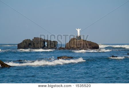 Jesus über das Meer