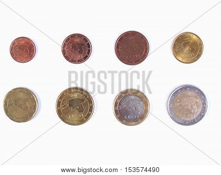 Eur Coins From Estonia