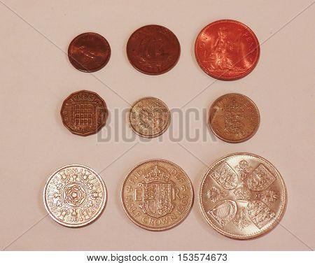 Pre-decimal Gbp Coins