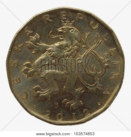 20 Czech Korunas Coin