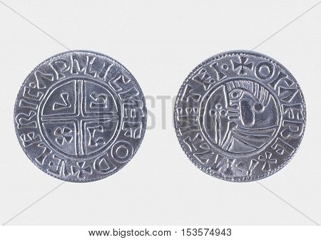 Viking coin - modern replica based on archaeological findings