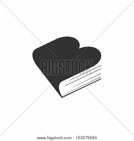 Book logo design, modern book logo design