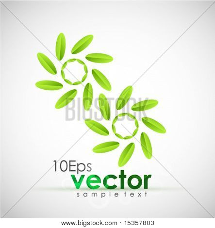Green concept. Vector illustration