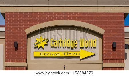 Cartridge World Exterior And Logo
