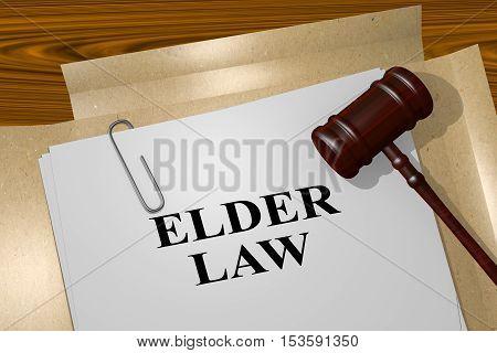Elder Law - Legal Concept