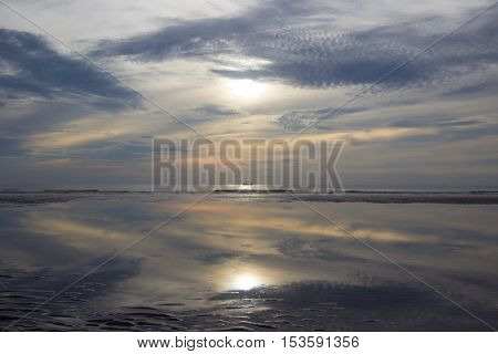 Sunrise at Hua Hin,Prachuap Khiri Khan Province,Thailand