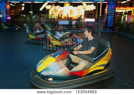 Amusement Leisure Funny Happiness Enjoyment Concept
