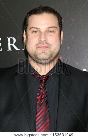LOS ANGELES - OCT 25:  Max Adler at the