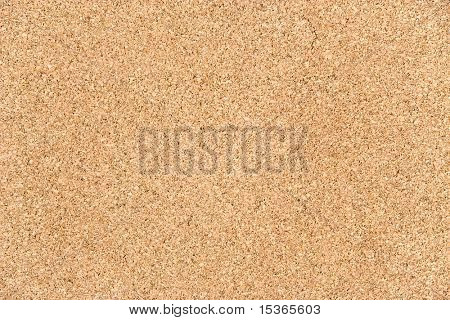 Cork texture. Note board on a wall.