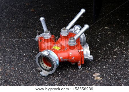 firemen water foam splitter valve equipment for extinguish