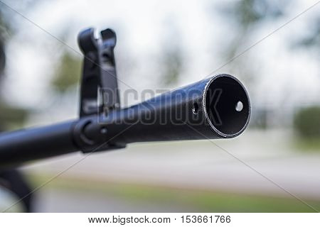 Heavy Machine Gun Front Sight Black Tube