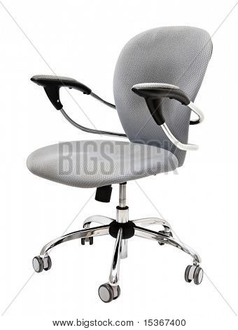Modern office chair. Isolated on white.