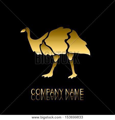 Golden Emu Symbol