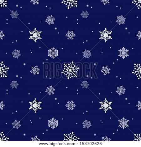 snowflake dark blue colour background christmas pattern tint layer wallpaper