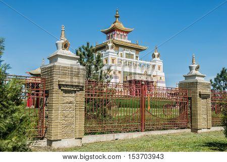 The Buddhist complex