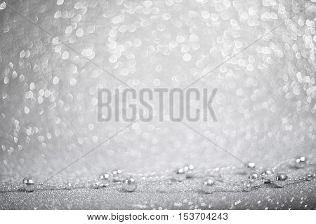 Silver Decorative Beads