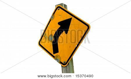 Turn right here