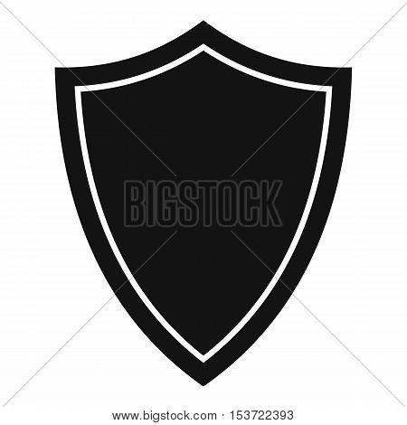 Shield for war icon. Simple illustration of shield for war vector icon for web