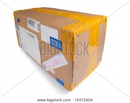 Postal package priority mail