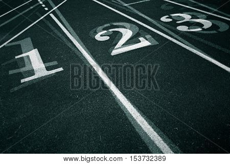 Black and white track and field background
