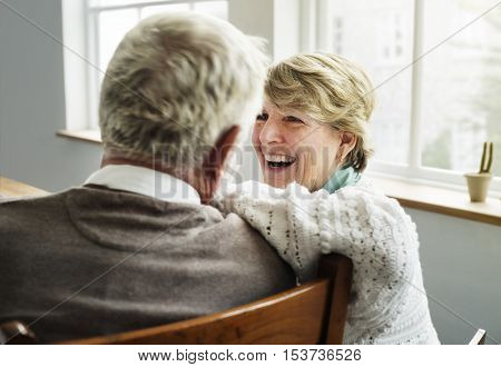 Husband Wife Senior Pensioner Retirement Couple Concept