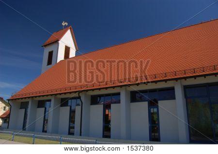 Modern Church In Landstuhl, Germany