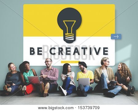 Creative Idea Diverse People Concept