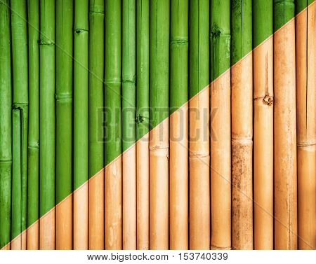 Bamboo fence texture, bamboo texture background, bamboo aging process background