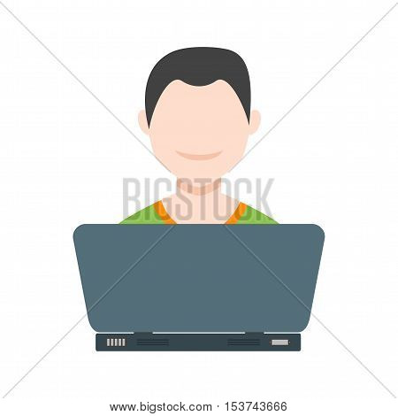 Study, system, internet icon vector image. Can also be used for E Learning. Suitable for mobile apps, web apps and print media.