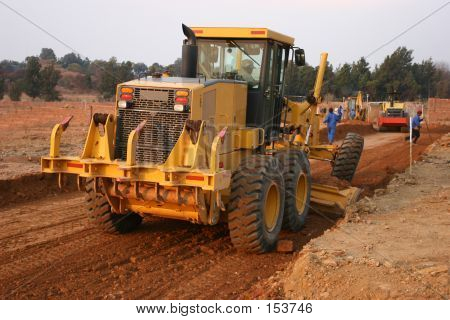 Grader Heavy Equipment