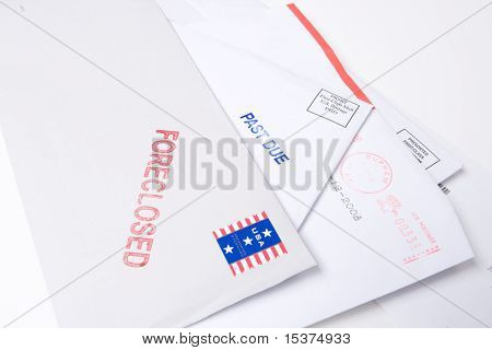 Pile Mail Stamped