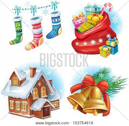 Traditional Christmas symbols