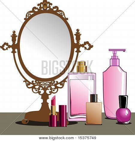MakeUp and Mirror