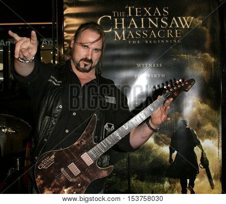 Andrew Bryniarski aka Leatherface at the Los Angeles premiere of 'The Texas Chainsaw Massacre: The Beginning' held at the Grauman's Chinese Theater in Hollywood, USA on October 5, 2006.