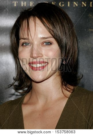 Erica Leershen at the Los Angeles premiere of 'The Texas Chainsaw Massacre: The Beginning' held at the Grauman's Chinese Theater in Hollywood, USA on October 5, 2006.