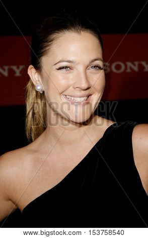 Drew Barrymore at the Sony Global Marketing Partners' Celebration held at the Rodeo Drive in Beverly Hills, USA on September 29, 2006.