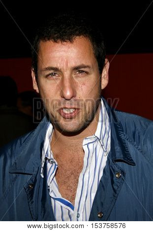 Adam Sandler at the Sony Global Marketing Partners' Celebration held at the Rodeo Drive in Beverly Hills, USA on September 29, 2006.