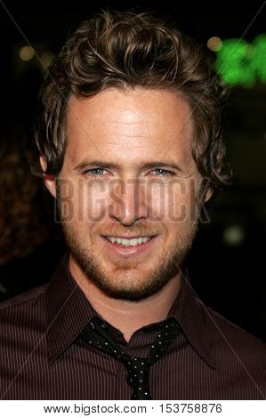 AJ Buckley at the Los Angeles premiere of 'Man of the Year' held at the Grauman's Chinese Theater in Hollywood, USA on October 4, 2006.