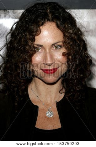 Minnie Driver at the Los Angeles premiere of 'The Queen' held at the Academy of Motion Picture Arts and Sciences in Beverly Hills, USA on October 3, 2006.